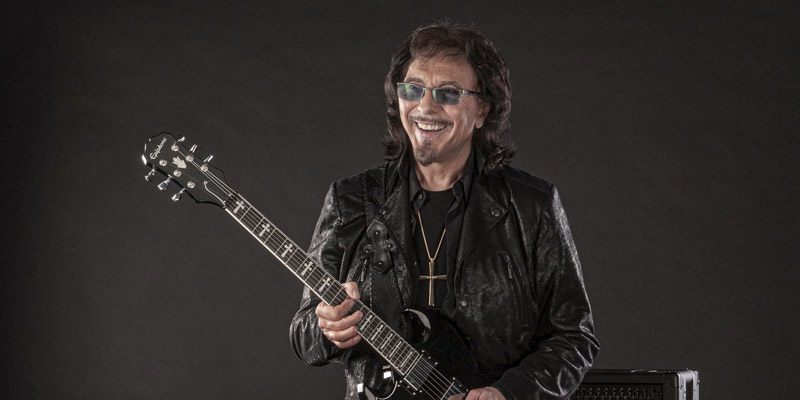 Tony Iommi with Epiphone SG