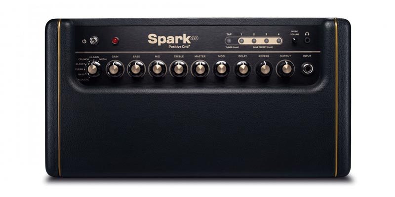 Positive Grid Spark Amp Top View