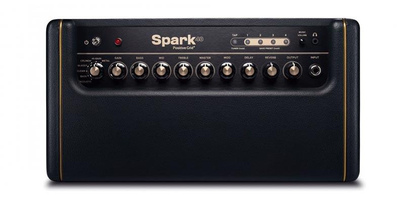 Positive Grid Spark Amp Top View