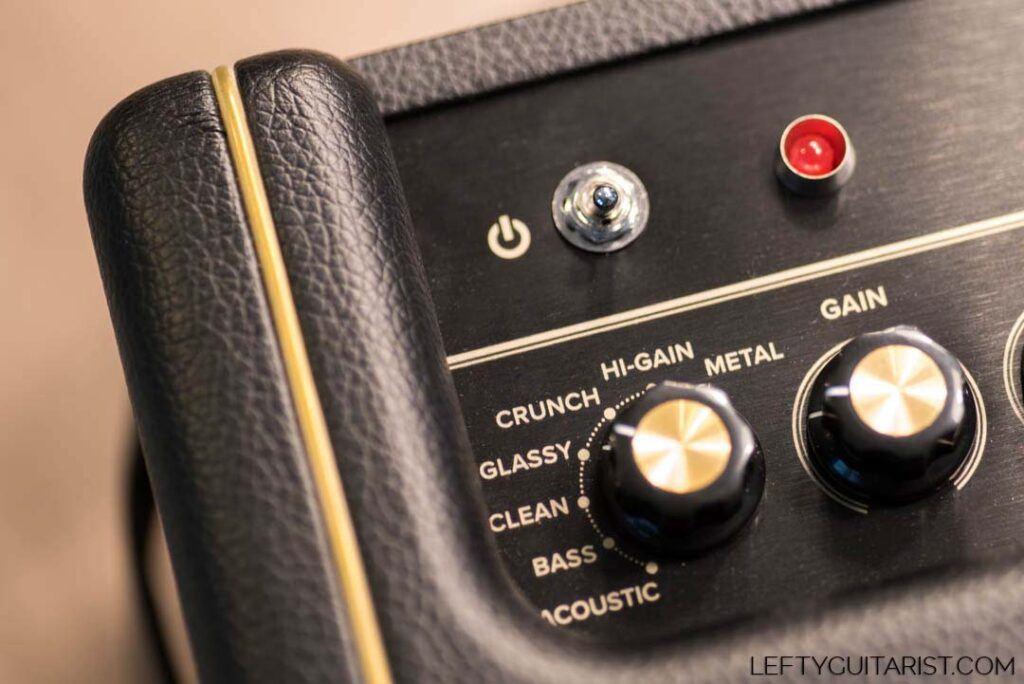 Positive Grid Spark 40 Amplifier Presets Knob