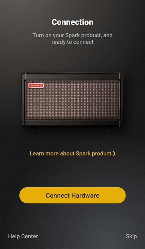Positive Grid Spark App Connect Hardware
