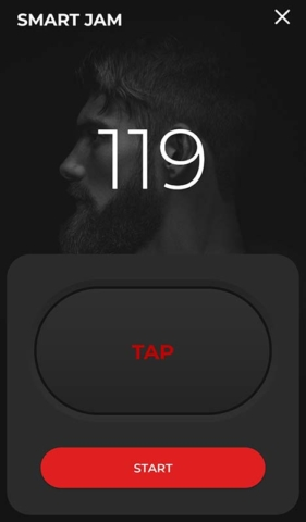 Positive Grid Spark App Smart Jam Tap Tempo