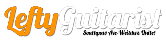 Lefty Guitarist - LeftyGuitarist.com logo