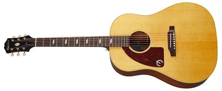Left Handed Epiphone Guitars - Texan (USA)