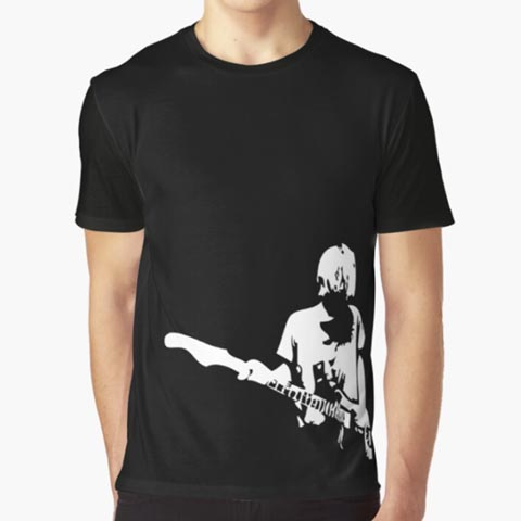 Left handed guitar shirts - As You Are