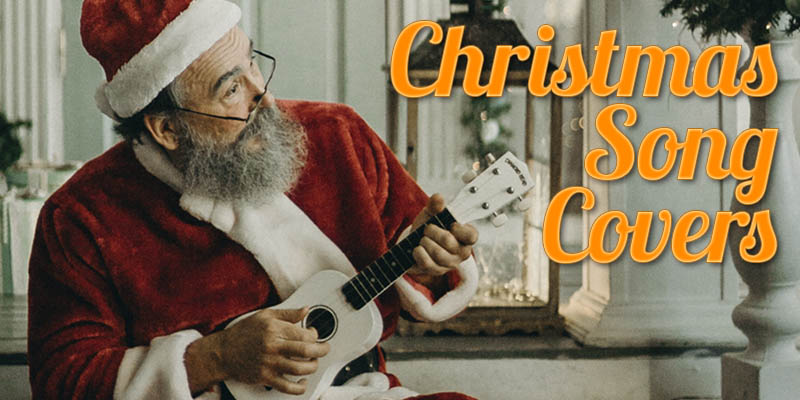 Lefty Guitarist's 13 Top Rocking Christmas Song Covers