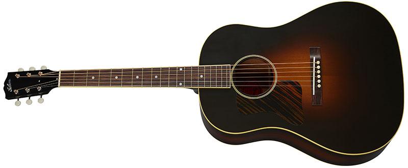 Left Handed Gibson Acoustic Guitars - 1934 Jumbo (Vintage Sunburst)