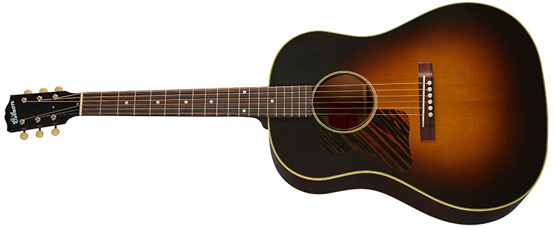 Left Handed Gibson Acoustic Guitars - 1936 J-35 (Vintage Sunburst)