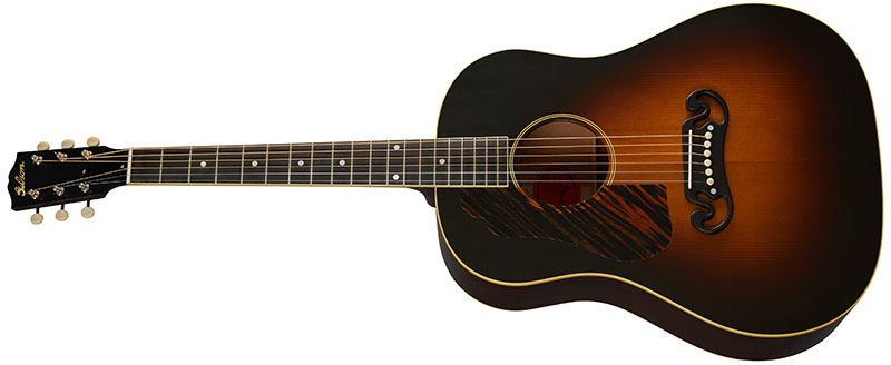 Left Handed Gibson Acoustic Guitars - 1939 J-55 (Vintage Sunburst)