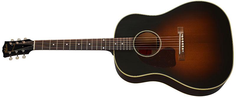 Left Handed Gibson Acoustic Guitars - 1942 Banner J-45 (Vintage Sunburst)