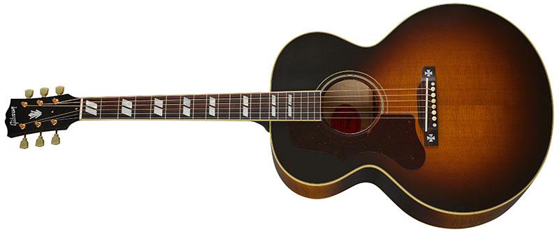 Left Handed Gibson Acoustic Guitars - 1952 J-185 (Vintage Sunburst)