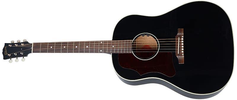 Left Handed Gibson Acoustic Guitars - 50s J-45 Original (Ebony)