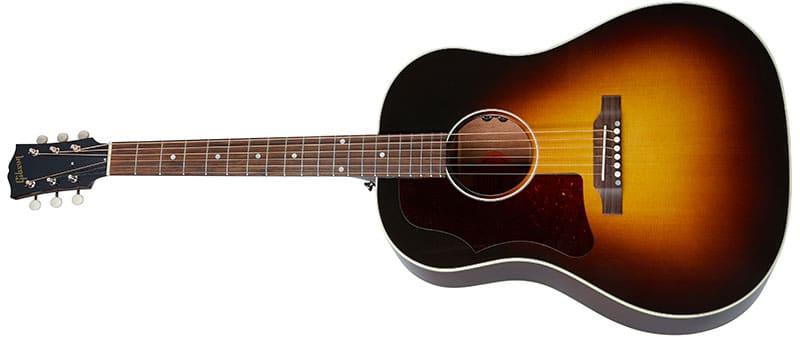 Left Handed Gibson Acoustic Guitars - 50s J-45 Original (Vintage Sunburst)