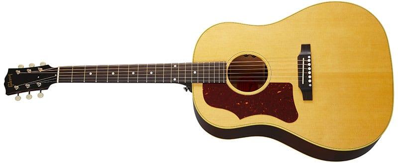 Left Handed Gibson Acoustic Guitars - 50s J-50 Original (Antique Natural)