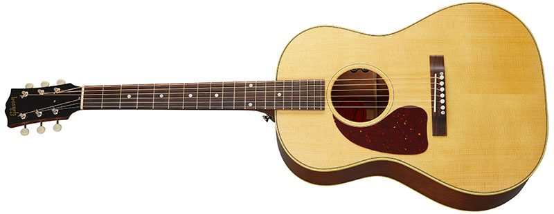 Left Handed Gibson Acoustic Guitars - 50s LG-2 (Antique Natural)