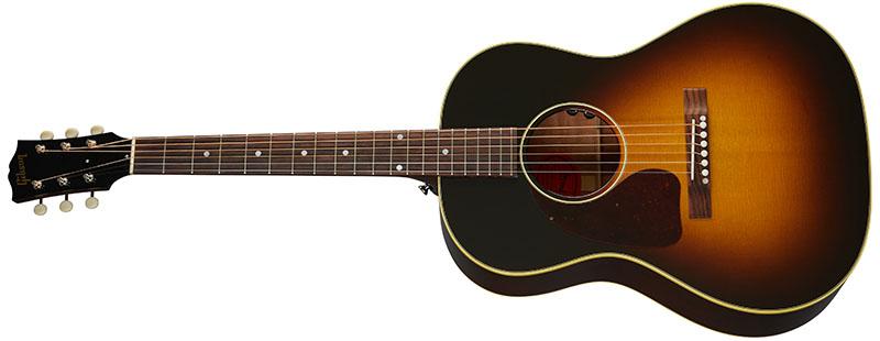 Left Handed Gibson Acoustic Guitars - 50s LG-2 (Vintage Sunburst)