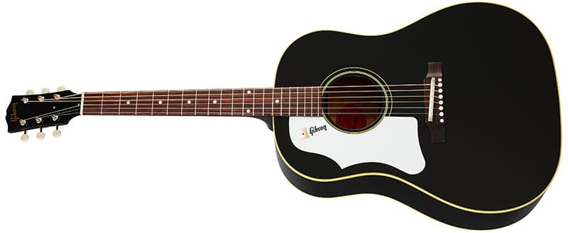 Left Handed Gibson Acoustic Guitars - 60s J-45 Original (Ebony)
