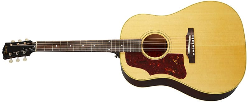 Left Handed Gibson Acoustic Guitars - 60s J-50 Original (Antique Natural)