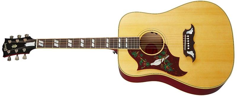 Left Handed Gibson Acoustic Guitars - Dove Original (Antique Natural)