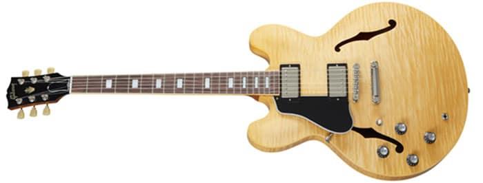 Left Handed Gibson Guitars - ES-335 Figured (Antique Natural)