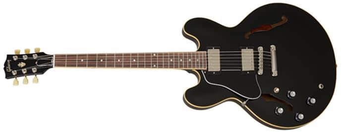 Left Handed Gibson Guitars - ES-335 DOT (Vintage Ebony)