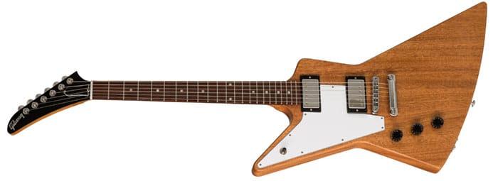 Left Handed Gibson Guitars - Explorer (Antique Natural)