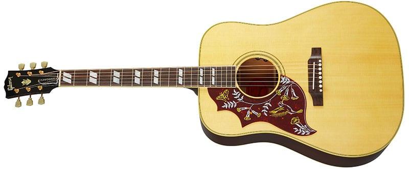 Left Handed Gibson Acoustic Guitars - Hummingbird Original (Antique Natural)