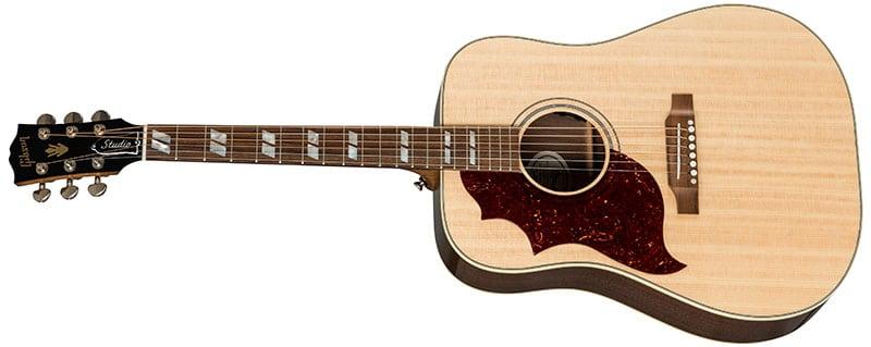 Left Handed Gibson Acoustic Guitars - Hummingbird Studio Walnut (Antique Natural)
