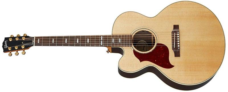 Left Handed Gibson Acoustic Guitars - J-185 EC Modern Rosewood (Antique Natural)