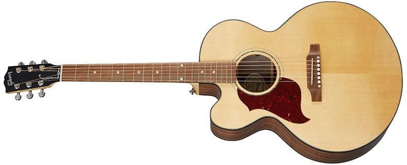Left Handed Gibson Acoustic Guitars - J-185 EC Modern Walnut (Antique Natural)