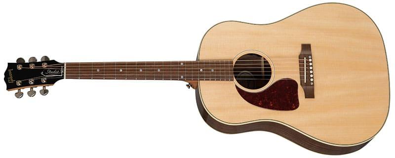 Left Handed Gibson Acoustic Guitars - J-45 Studio Walnut (Antique Natural)