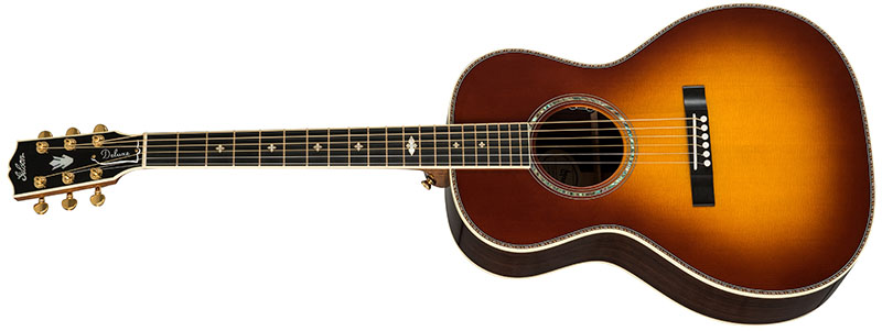 Left Handed Gibson Acoustic Guitars - L-00 Deluxe (Rosewood Burst)