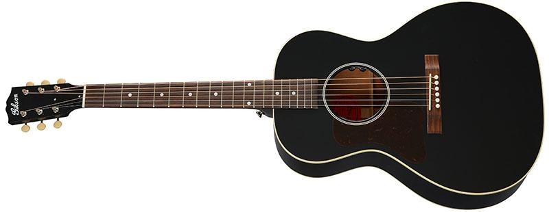 Left Handed Gibson Acoustic Guitars - L-00 Original (Ebony)