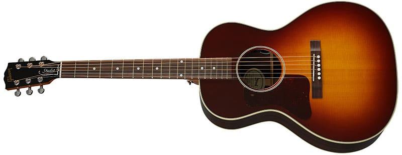 Left Handed Gibson Acoustic Guitars - L-00 Studio Rosewood (Rosewood Burst)
