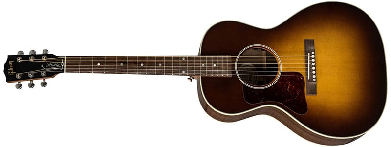 Left Handed Gibson Acoustic Guitars - L-00 Studio Walnut (Walnut Burst)