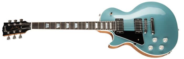 Left Handed Gibson Guitars - Les Paul Modern (Faded Pelham Blue Top)