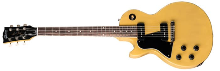 Left Handed Gibson Guitars - Les Paul Special (TV Yellow)