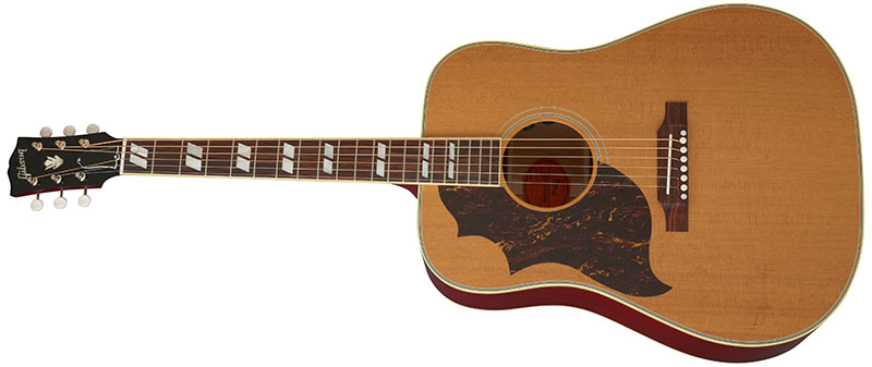 Left Handed Gibson Acoustic Guitars - Sheryl Crow Country Western Supreme (Antique Cherry)