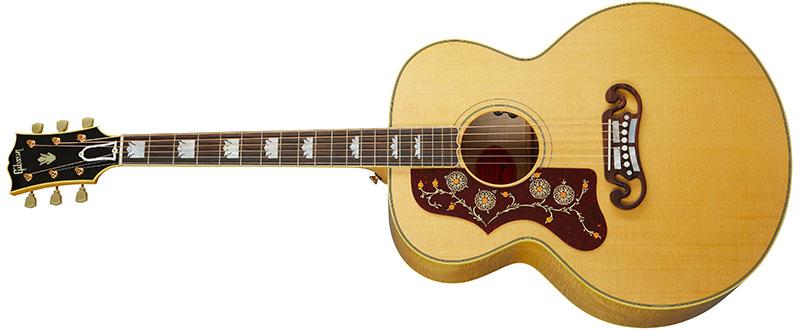 Left Handed Gibson Acoustic Guitars - SJ-200 Original (Antique Natural)
