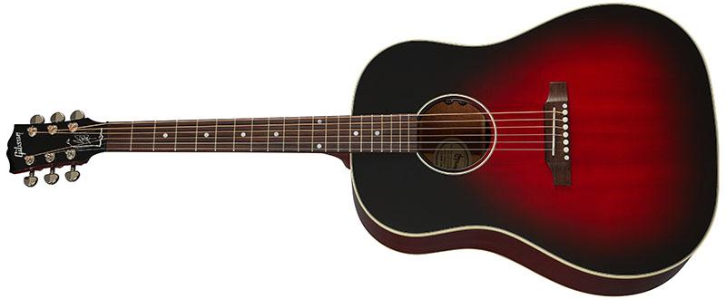 Left Handed Gibson Acoustic Guitars - Slash J-45 (Vermillion Burst)