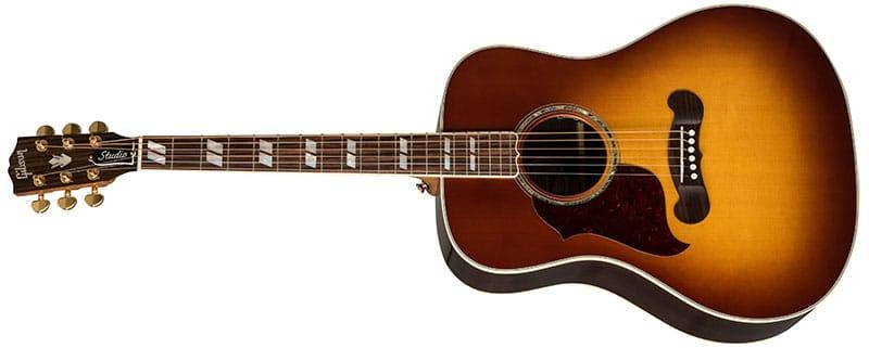 Left Handed Gibson Acoustic Guitars - Songwriter Standard Rosewood (Rosewood Burst)