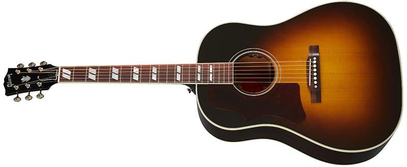 Left Handed Gibson Acoustic Guitars - Southern Jumbo Original (Vintage Sunburst)