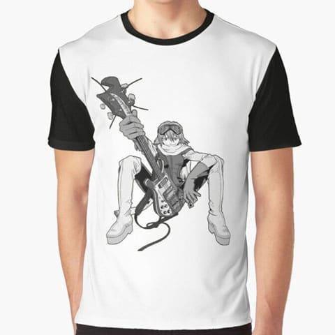 Left Handed Guitar Shirts - Bass Player