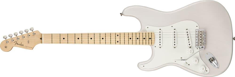 Left Handed Fender Guitars - American Original '50s Stratocaster (White Blonde)