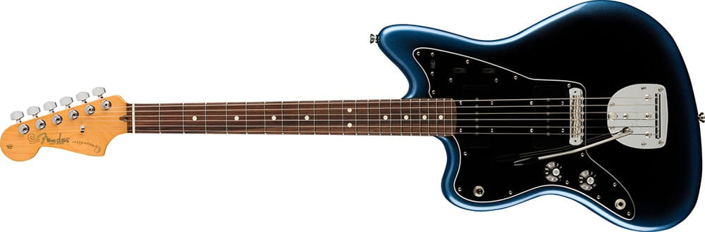 Left Handed Fender Guitars - American Professional II Jazzmaster (Dark Night)