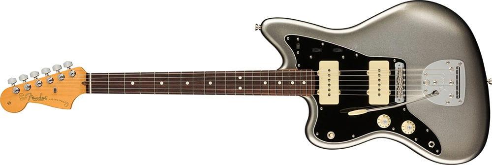Left Handed Fender Guitars - American Professional II Jazzmaster (Mercury)