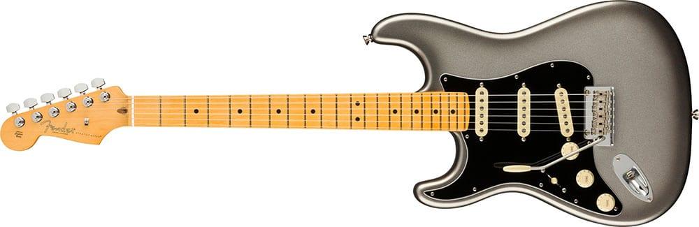 Left Handed Fender Guitars - American Professional II Stratocaster (Mercury)