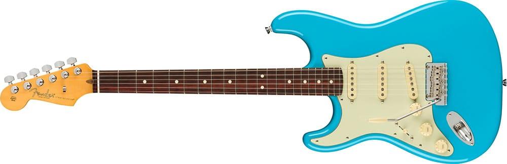 Left Handed Fender Guitars - American Professional II Stratocaster (Miami Blue)