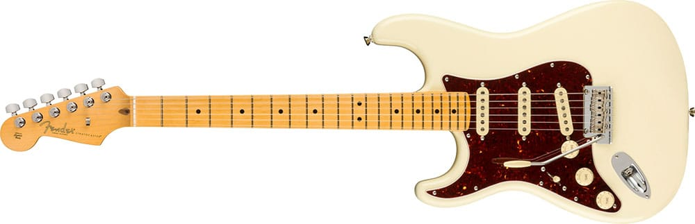 Left Handed Fender Guitars - American Professional II Stratocaster (Olympic White)