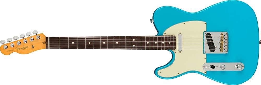 Left Handed Fender Guitars - American Professional II Telecaster (Miami Blue)